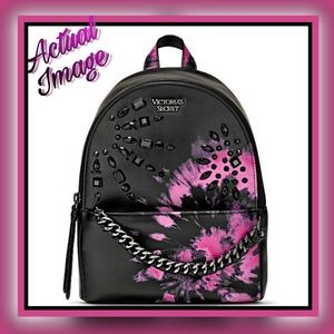 VICTORIA'S SECRET  VS Tie Dye Small City Backpack
